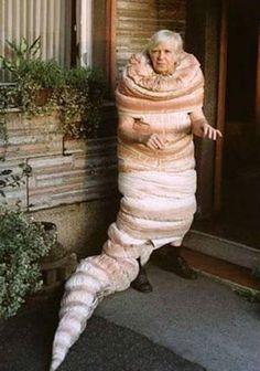 Gramma Conch Shell costume