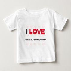 I LOVE CHARTERED PUBLIC FINANCE ACCOUNTANTS TSHIRT T Shirt, Hoodie Sweatshirt