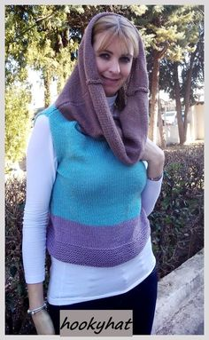 knited vest superlana klasik top down