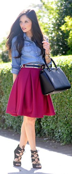 loving this a-line skirt http://rstyle.me/n/h6k7ar9te