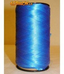 Cinta color azul para todo tipo de decoración. 0,5 cm de ancho. Largo del carretel: 9cm -->> $49