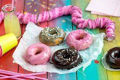 Vappurinkelit Doughnut, Desserts, Food, Tailgate Desserts, Deserts, Meals, Dessert, Yemek, Eten