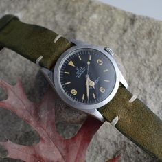 Vintage Rolex Explorer 1016 from year 1969 Rolex Watches For Sale, Army Watches, Breitling Watches, Cool Watches, Watches For Men, Cheap Watches, Vintage Rolex, Vintage Watches, Accessories