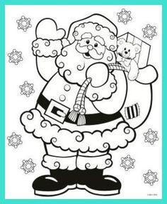 62 mikulás sablon20 - pagi decoplage | mikulás | ausmalbilder weihnachten, malvorlagen