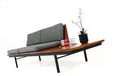 50S Furniture Design   60er Teak Daybed l Modular System l Robin Day for Hille UK l Neubezug ...