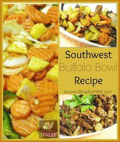 Southwest Buffalo Bowl Recipe!