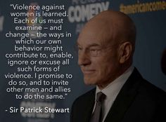 I'm all about Patrick Stewart. // 17 Of The Sexiest Quotes Ever Spoken