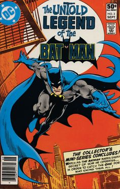 The Untold Legend of the Batman. 3 part story with Jim Aparo art...really good!