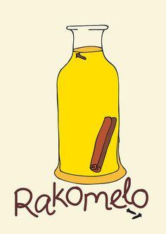 Rakomelo : Greek Raki and Honey!