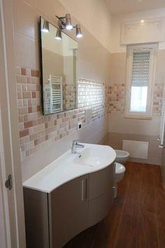 Ristrutturazione casa privata Taranto: Bagno in stile in stile Eclettico di progettAREA interni & design