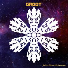 Guardians of the Galaxy snowflakes-groot-preview