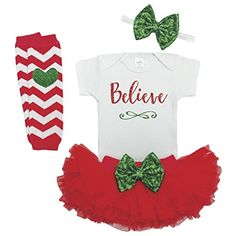 Girl First Christmas Outfit Baby Christmas Outfit Baby Girl Christmas -- Read more reviews of the product by visiting the link on the image.