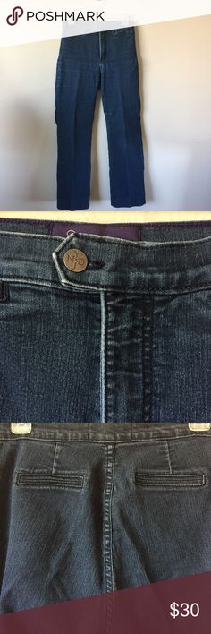 """NYDJ BOGO SALE 👖NYDJ Extended Tab Jeans #1 NYDJ Extended Tab Jeans #1. Size 8 Petite. Lift tuck technology. 14"""" waist unstretched, 10"""" rise, 28"""" inseam. Straighter leg. 80% cotton 19% polyester 1% spandex. No signs of wear. 🚫No Trades NYDJ Jeans"""