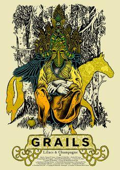 Grails / Europe / D.V. D'Andrea / Available at Samaritan Press