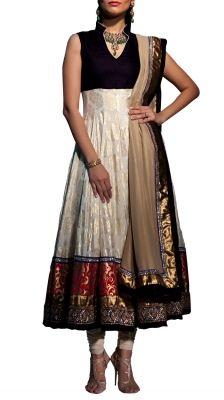 Khari Printed Anarkali Suit | Strandofsilk.com - Indian Designers