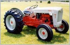 Someday I want a gray Ford Tractor like Grampa Nash's.