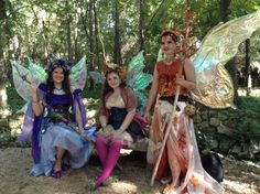 The Westwood Fairies at the Texas Renaissance Festival 2013