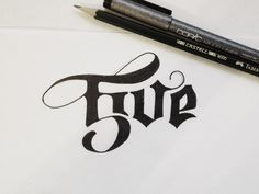 Lettering / 5ive