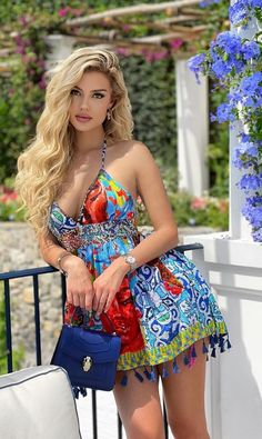 Short Dresses, Girls Dresses, Summer Dresses, Beautiful Models, Gorgeous Women, Looks Pinterest, Tumbrl Girls, Super Cute Dresses, Colorful Fashion