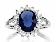 Love this ring! I have a much smaller & cheaper version of Princess Diana's engagement ring