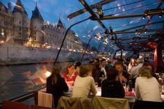 Bateaux Mouches in Paris, Île-de-France- dinner cruise