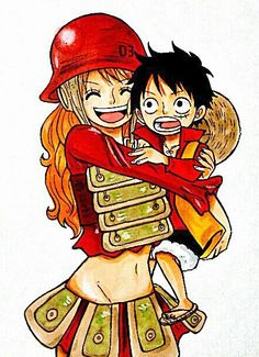 Luffy Nami #one piece