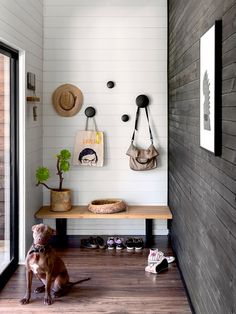 The modern entryway decor ideas in these 11 entry's are gorgeous and minimal. Perfect for a small front entrance, these ideas would be great to steal and to put in your home. decor front 11 Modern Entryway Decor Ideas to Copy in Your Own Home Modern Entryway, Entryway Decor, Garage Entryway, Entryway Storage, Entryway Organization, House Entrance, Entrance Hall, Hall House, Hall Bench With Storage