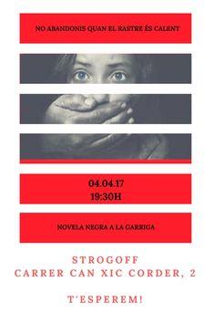 04.04.17 @strogoffbooks @manualyescribir #lagarriga #novelanegralagarriga