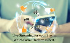 Live streaming is not just popular; it's become a must-have, thanks to social media. Not all event organizers have embraced it though; some fear that there will be a negative impact on the attendance. For more call +919900141155 or www.whitemassif.com