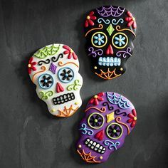 Giant Day of the Dead Cookies