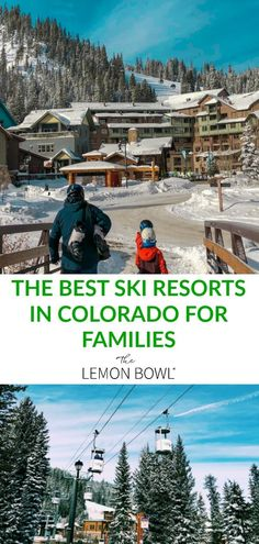 Heading out west for a family ski trip? Here's my guide to the best kid-friendly ski resorts in Colorado for families! Colorado Winter, Skiing Colorado, The Places Youll Go, Places To See, Best Ski Resorts, Best Skis, Need A Vacation, Family Ski, Travel Inspiration