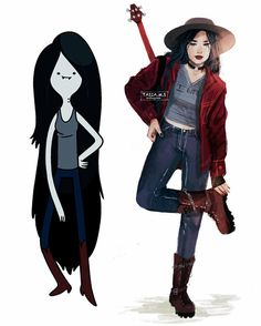 Marceline the Vampire Queen I am finishing my Adventure Time drawings hereI know there is still so many other characters that I have to draw but for now I really want to draw something differentWho knows, Maybe I do the other characters in the future  Also if you want to see close up of these drawings I have uploaded them to my twitter link in bio