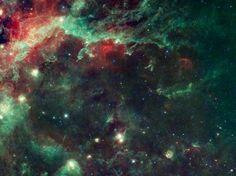 Deja de mirarme, cisne (© NASA/JPL - Caltech/UCLA photo)
