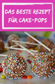The best cake pops, with or without Thermomix - Kuchen, Cookies, Muffins und noch mehr Süßes! Food Cakes, Easy Cake Recipes, Cookie Recipes, World's Best Food, Gateaux Cake, Savoury Cake, Food Items, Chocolate Chip Cookies, Chocolate Cake