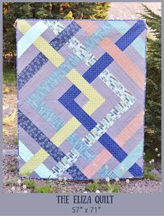 The Eliza Quilt Pattern | Kitchen Table Quilting