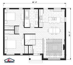 Champêtre, Bordure de lac / Chalet | LAP0378 | Maison Laprise - Maisons pré-usinées