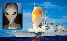 CNN registrou Lançamento de um Míssil Nuclear que teria sido Destruído por um UFO no Ar