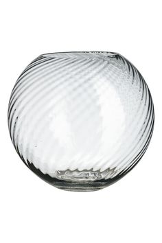 Large clear glass vase - Clear glass - Home All   H&M GB 1