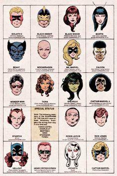 2 Head Logos John Byrne Faces Cover Corner Art.