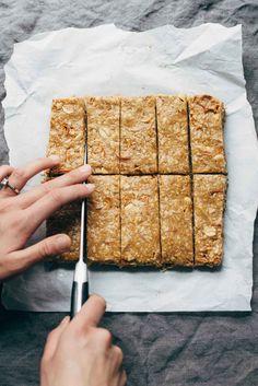 The Best Soft Granola Bars - Pinch of Yum