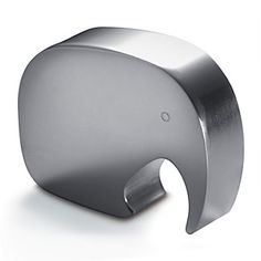 A rather dashing shiny aluminum bottle opener in the shape of an elephant for Dad this Father's Day. (CC: @GeorgJensen)