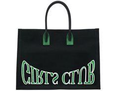 GIRLS CLUB BLACK CANVAS TOTE – PERAZA