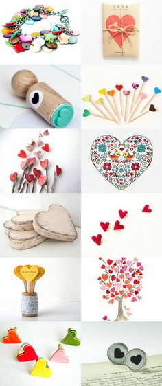 Hearts! by Annemarie on Etsy--Pinned with TreasuryPin.com