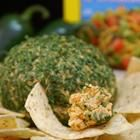 """Tailgating Spicy Taco Cheese Ball    """"At Christmas I serve friends and family Nannie's Cheese Logs in gift trays, and this spin off on my family's Cheese Log recipe was at the top of the list. It's fire hot and it's right up a man's alley for tailgating and parties. Best served with tortilla chips. Can store nicely for a week before serving."""""""
