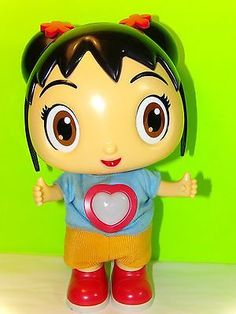 2009 Mattel Viacom Ni Hao Kai Lan Super Special Friend Animated Doll