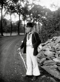 Itinerant mason, Germany, 1927. August Sander