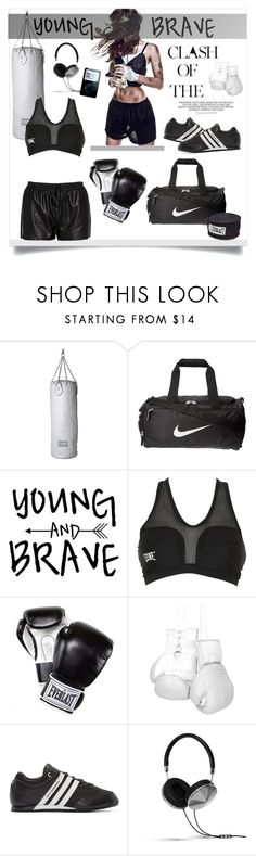 """""""Get fit box it out"""" by jemma-armitage ❤ liked on Polyvore featuring Seletti, NIKE, Leone 1947, Everlast, Elisabeth Weinstock, Y-3, Frends and Morgan"""