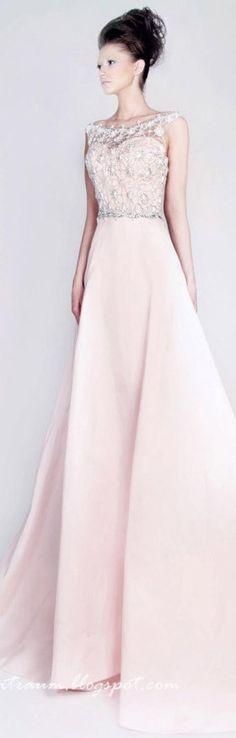 Rami Kadi  Pink Gown2013/2014