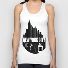 NEW YORK CITY  Unisex Tank Top by Robleedesigns - $22.00