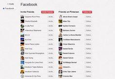 9 - En la parte superior derecha, donde aparece el nombre de tu cuenta, aparece la opción de Invitar y Encontrar amigos.